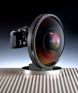 Nikon Wide-angle Lens, Lensa fisheye Nikkor 6mm f2.8, Nikkor 6mm f2.8 fisheye lens Specs and review, Wide-angle lens photo image