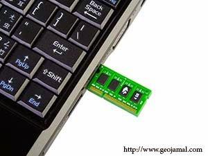 حول أي صنف usb أو Memory Card إلى RAM بدون برامج