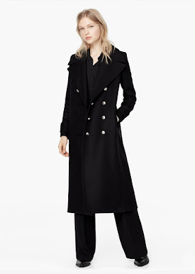Mango Wool Overcoat