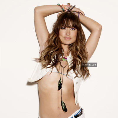 Olivia Wilde Hairstyles For Nylon Magazine August 2011 - 8