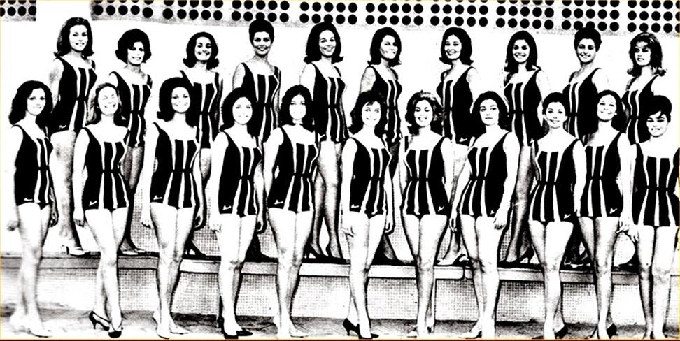 Candidatas ao Titulo de Miss Universo Brasil 1963
