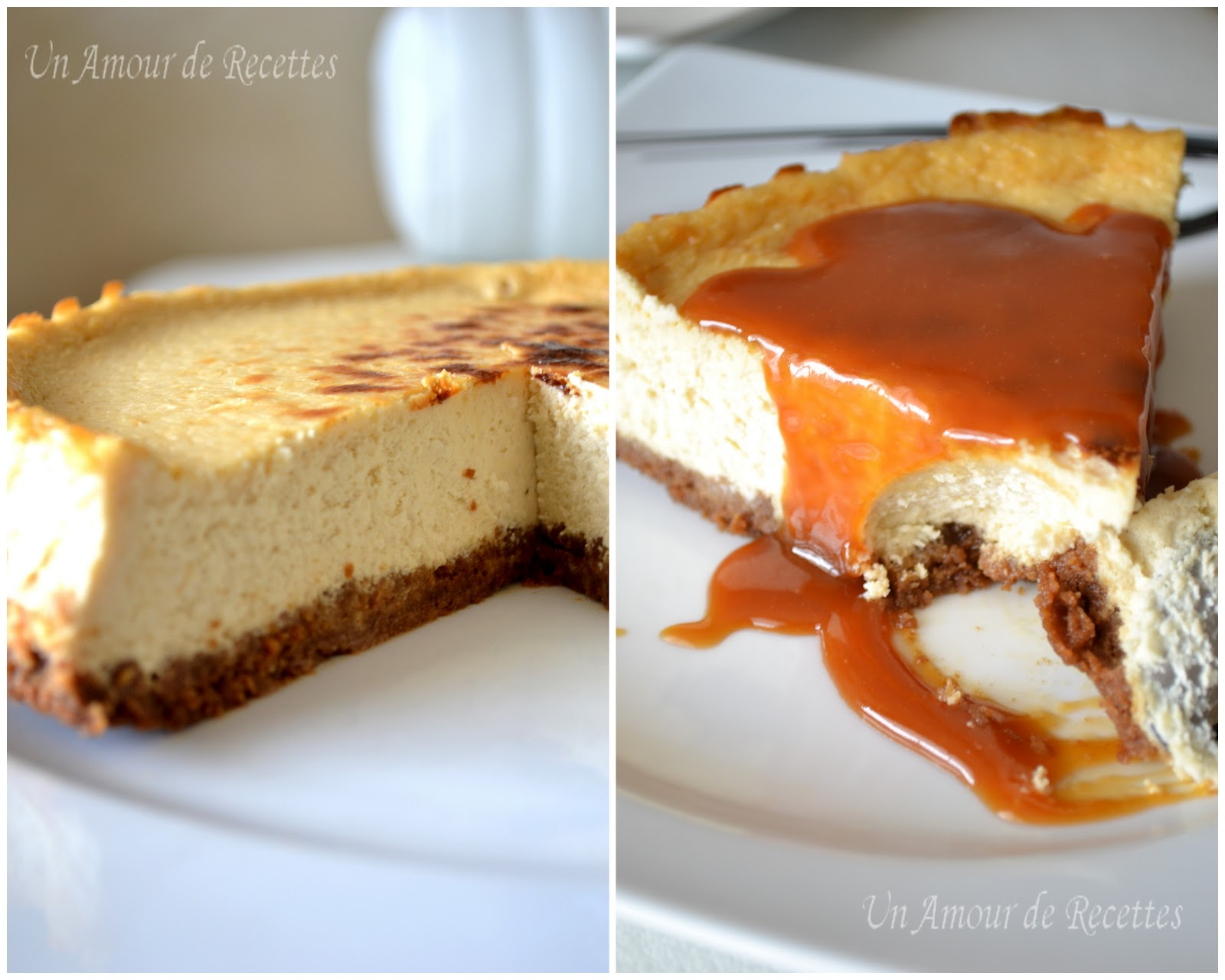 cheesecake caramel au beurre sale