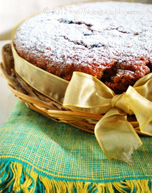Dolci golosità:Torta speziata mele e uva sultanina