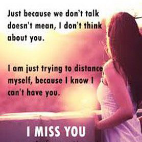 Miss you status for whatsapp Bbm don't think about you