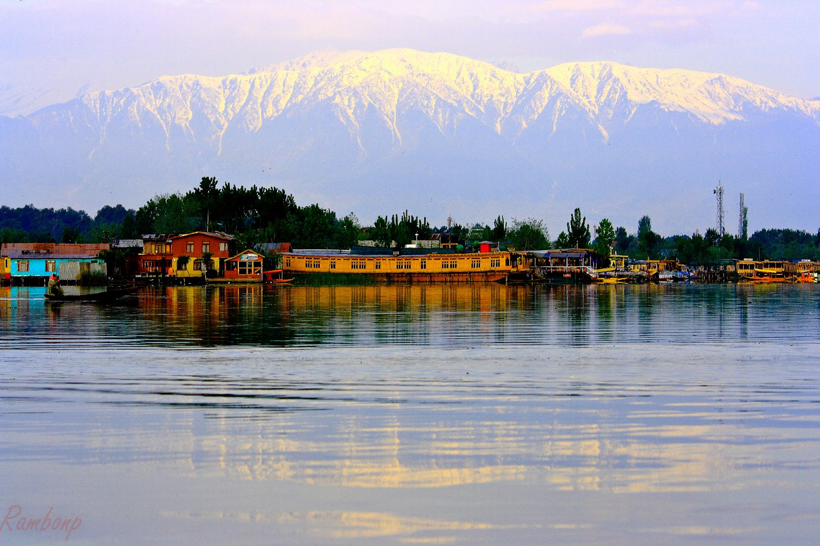 Danau Populer di India