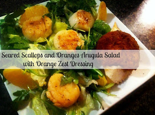 home made salad dressing, salad recipe, Orange Citrus Salad dressing
