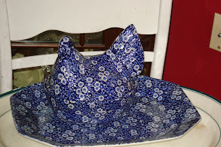 Blue Calico Chicken Covered Dish