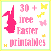 Free printable Easter goodies: