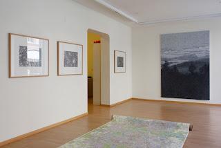 Richard Müller: Paysage gris-bleu Galerie Hufschmid Zürich