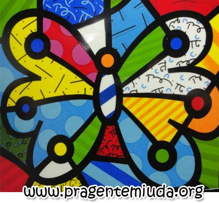 Projeto de educação infantil para trabalhar com releitura de obras de Romero Brito na primavera
