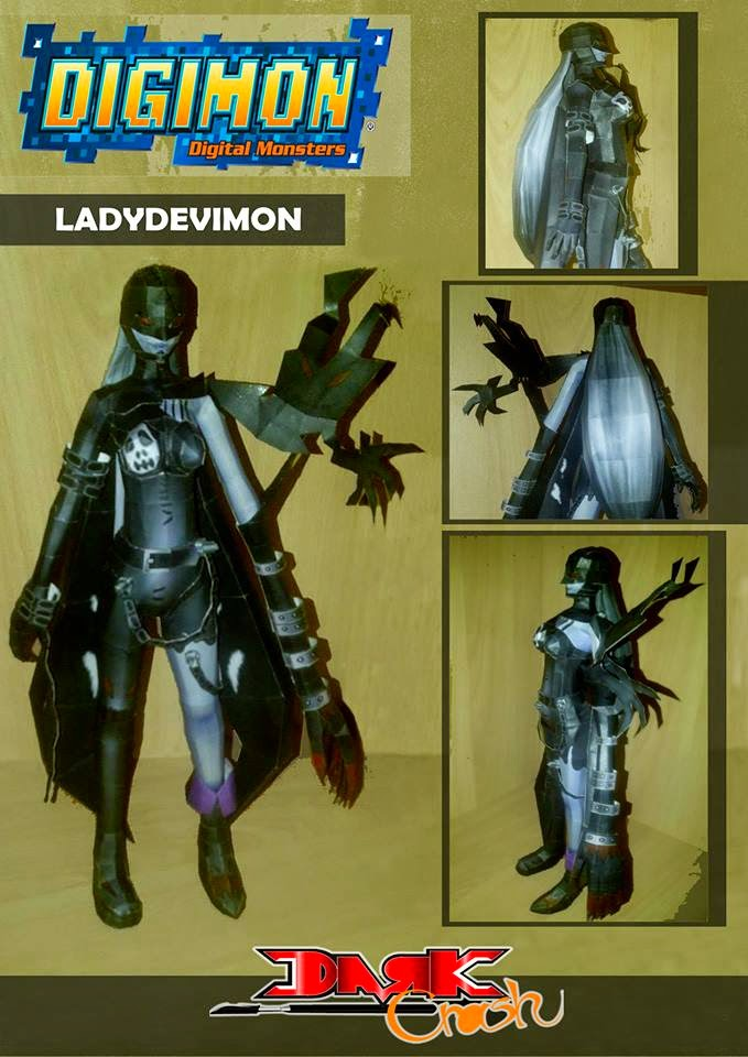 Lady Devimon Papercraft