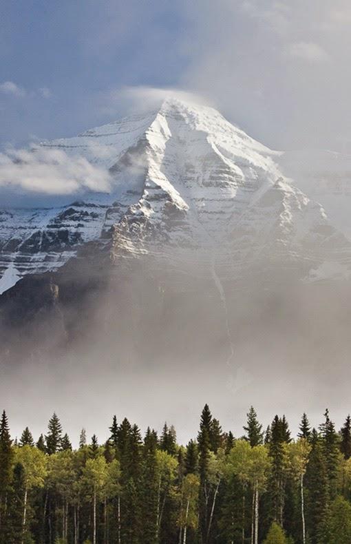 Snow Peak, Mt. Robson, Canada