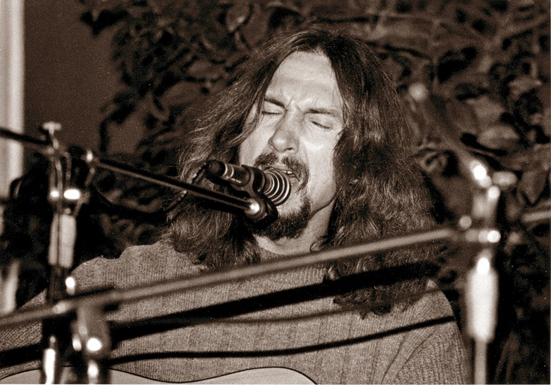 Valdis Atāls koncertā ,, Bildes '' 1989. gadā