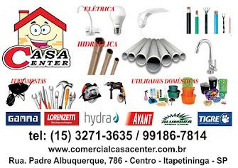 Comercial CASA CENTER MATERIAIS ELÉTRICOS