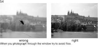 Совет 54. Когда вы снимаете через стекло окна, следите что бы на стекле на было лишних предметов, которые бы портили кадр.