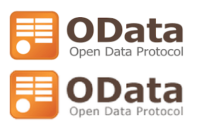 OData logo Vector vs Raster