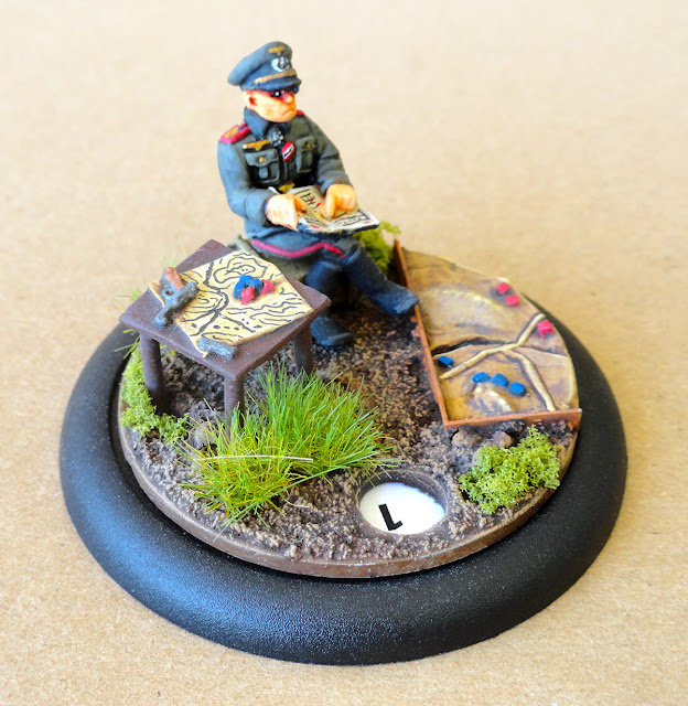 Bolt Action Chain of Command Operation Squad Turn Marker