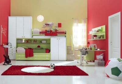 Muebles de dormitorio para ni os de color blanco - Dormitorio para ninos ...