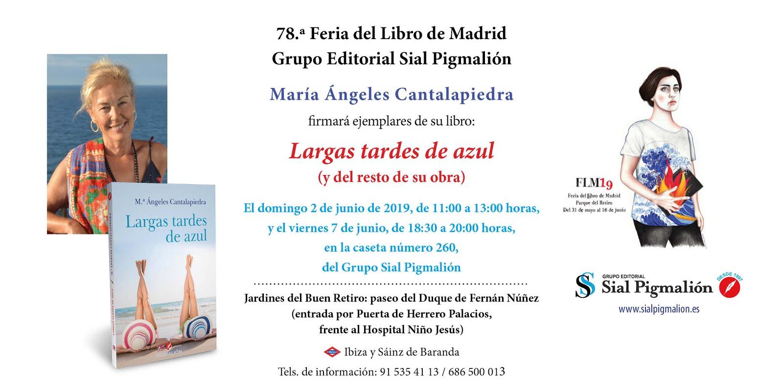 Feria del libro, Madrid 2019