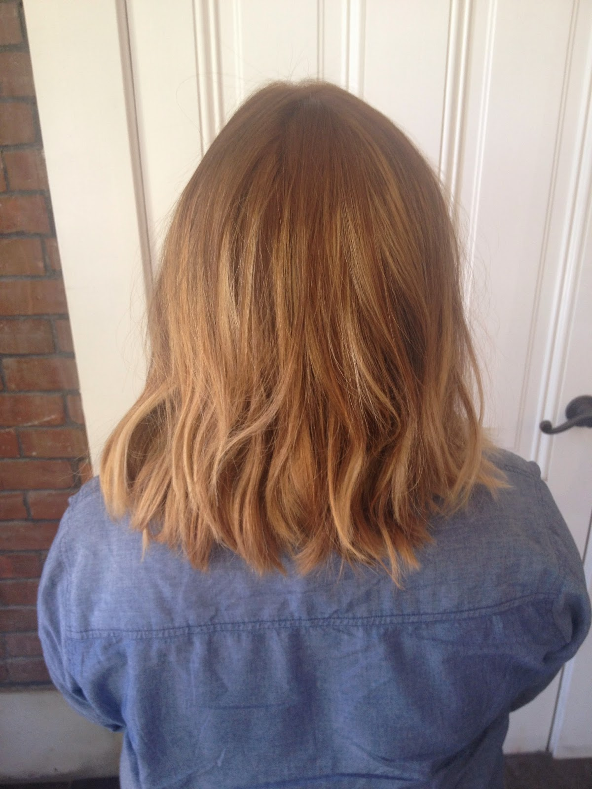 Long A-Line Bob Ombre Hairstyle