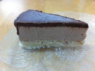 עוגת גלידה קוקוס מוס ושוקולד לקיץ