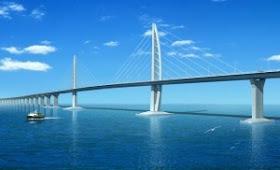 Hongkong Zhuhai Macau+Bridge 10 Proyek Bangunan Paling Menakjubkan di Dunia