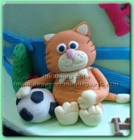 Kue Ulang Tahun Anak : Timmy Time n Friends for Raian 22082011