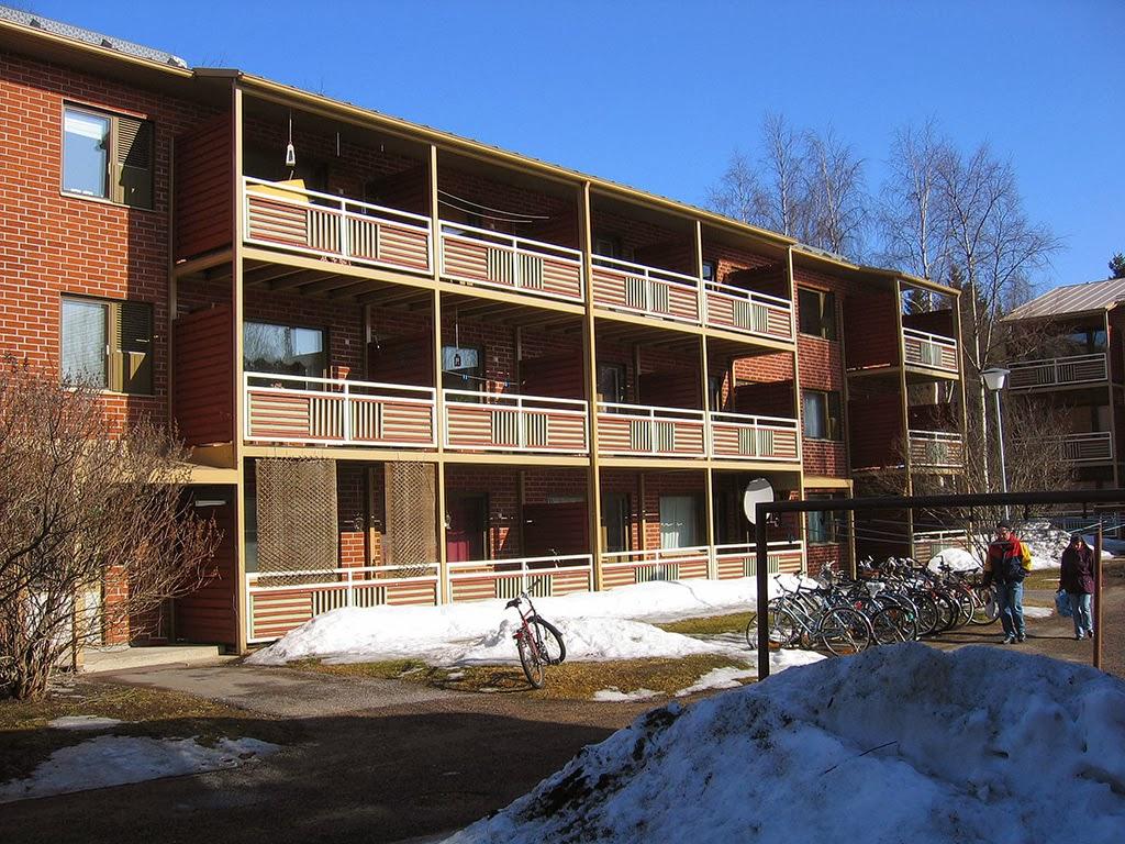 Mustaa valkoisella Asumisen maksut suurimmat Jyväskylässä, pienimmät Oulussa