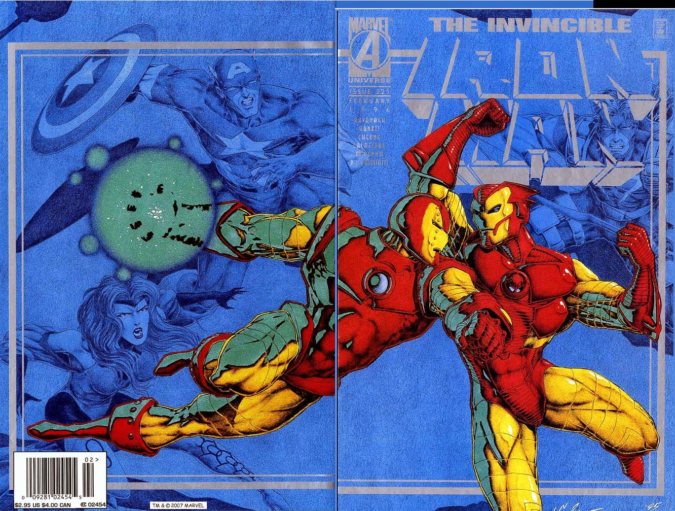 Iron Man 325 cover