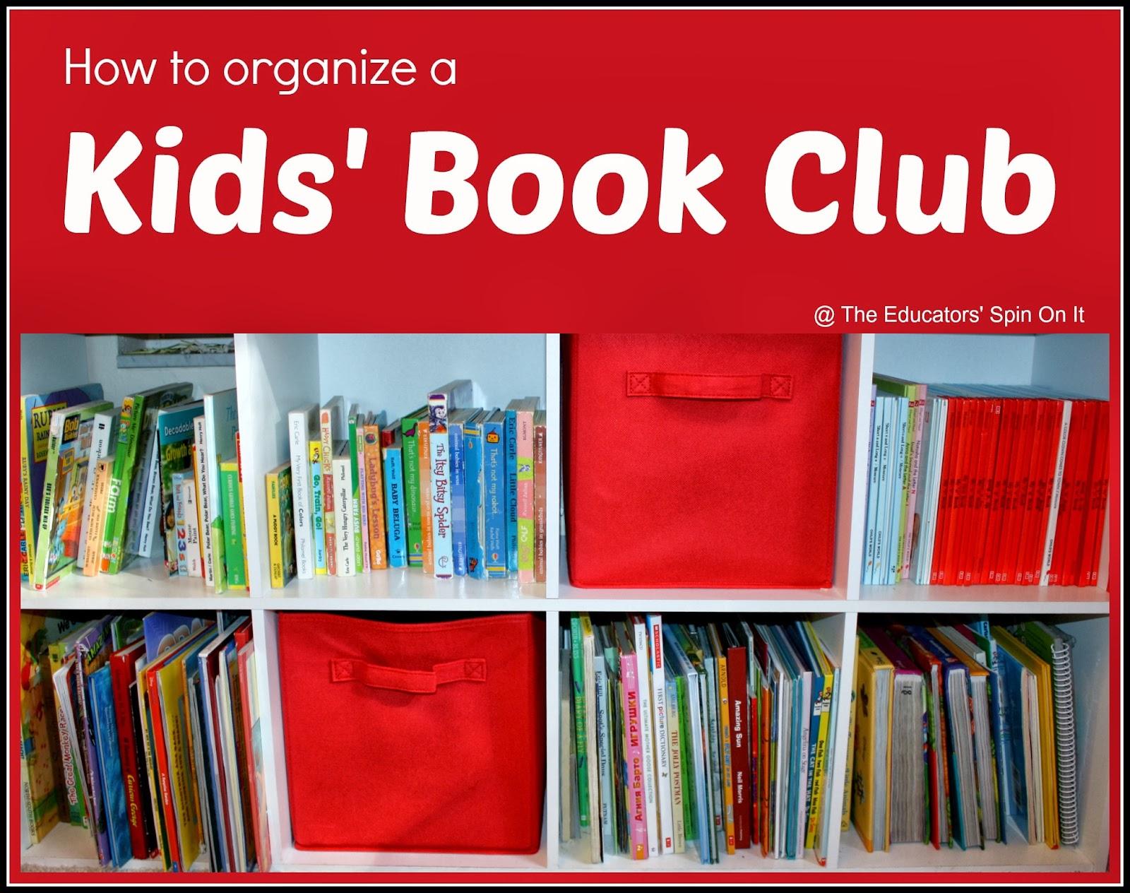 Run Club Ideas How to Run a Kids' Book Club