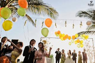 Suasana pernikahan