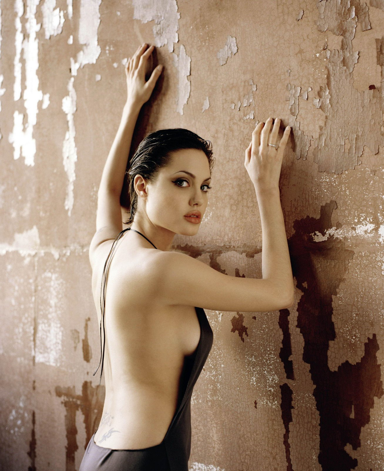 angelina jolie topless