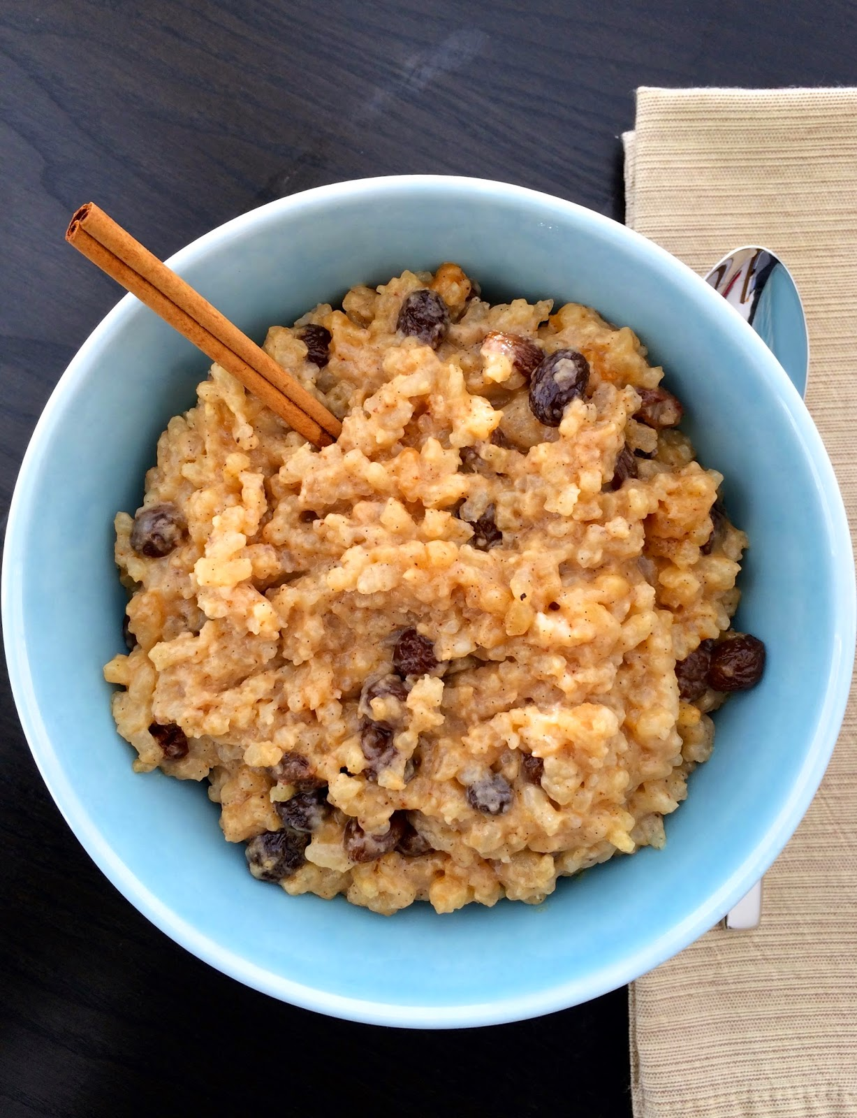 Toasted Vanilla Rice Pudding by @JavelinWarrior