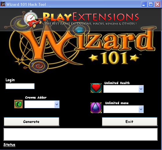 wizard 101 cheat code for training points