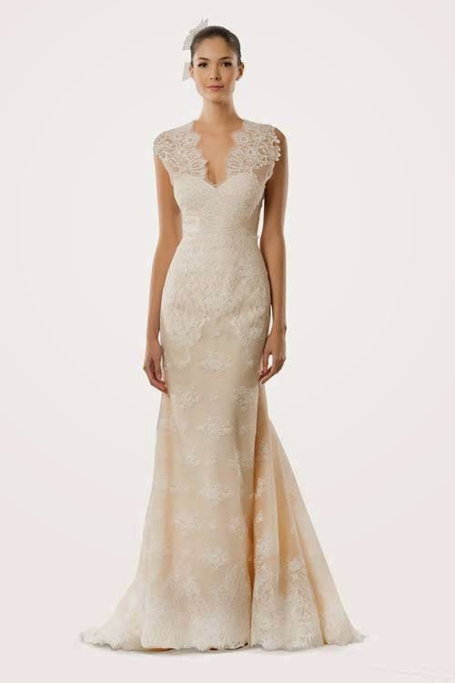 2015 Fall Wedding Dresses Design by Carolina Herrera