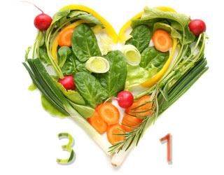 Dieta 3x1 para adelgazar