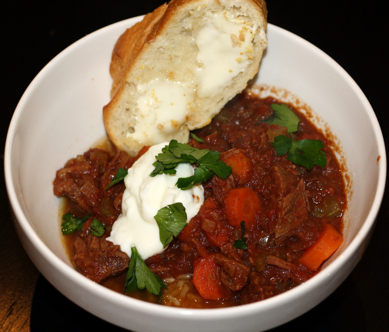 what's for dinner?: slow-cooker beef and tomato stew... 6 hours and 15 ...