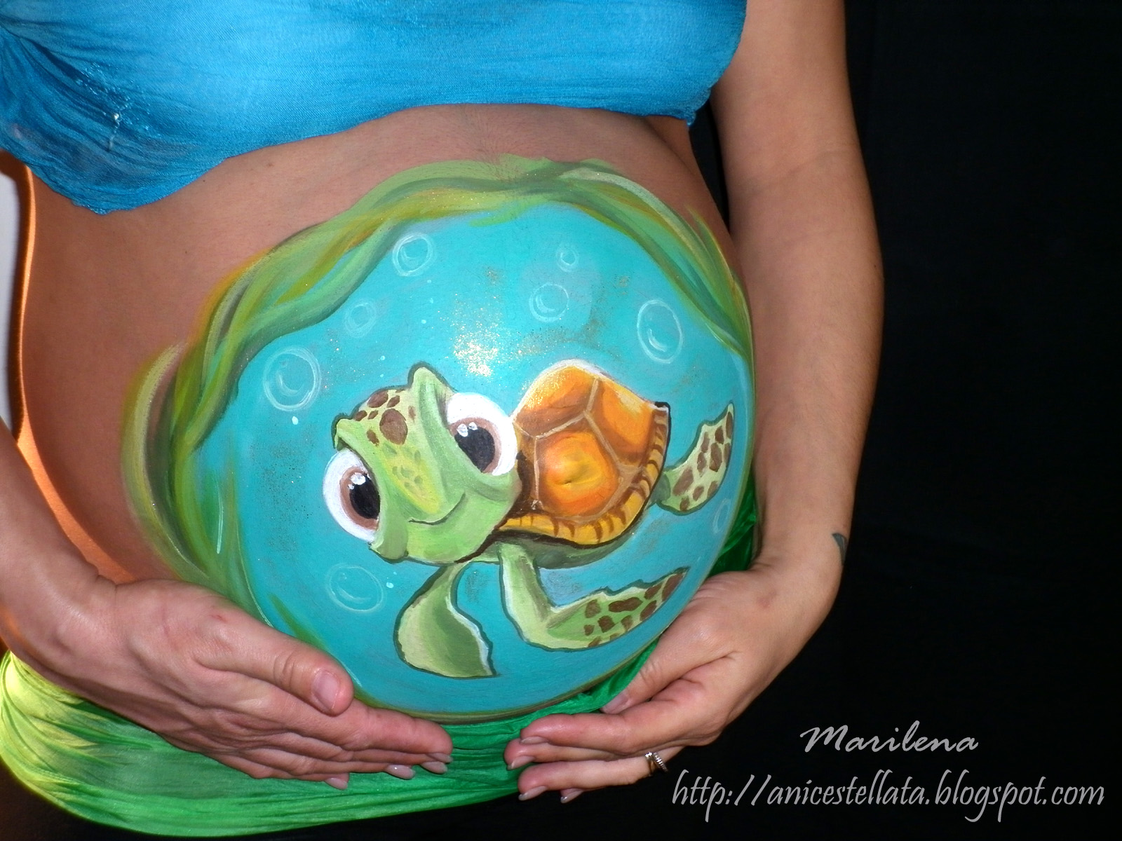 Belly Painting - New Tattoo Design Art Gallery