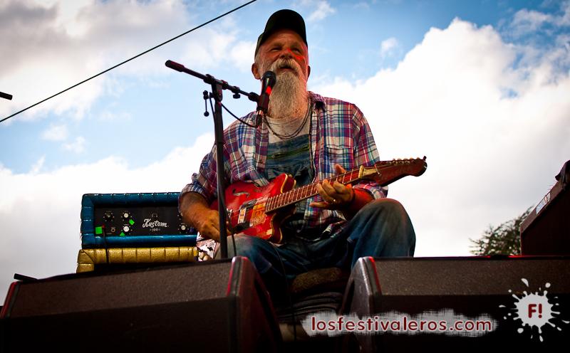 Seasick Steve, Festival Les Déferlantes 2014
