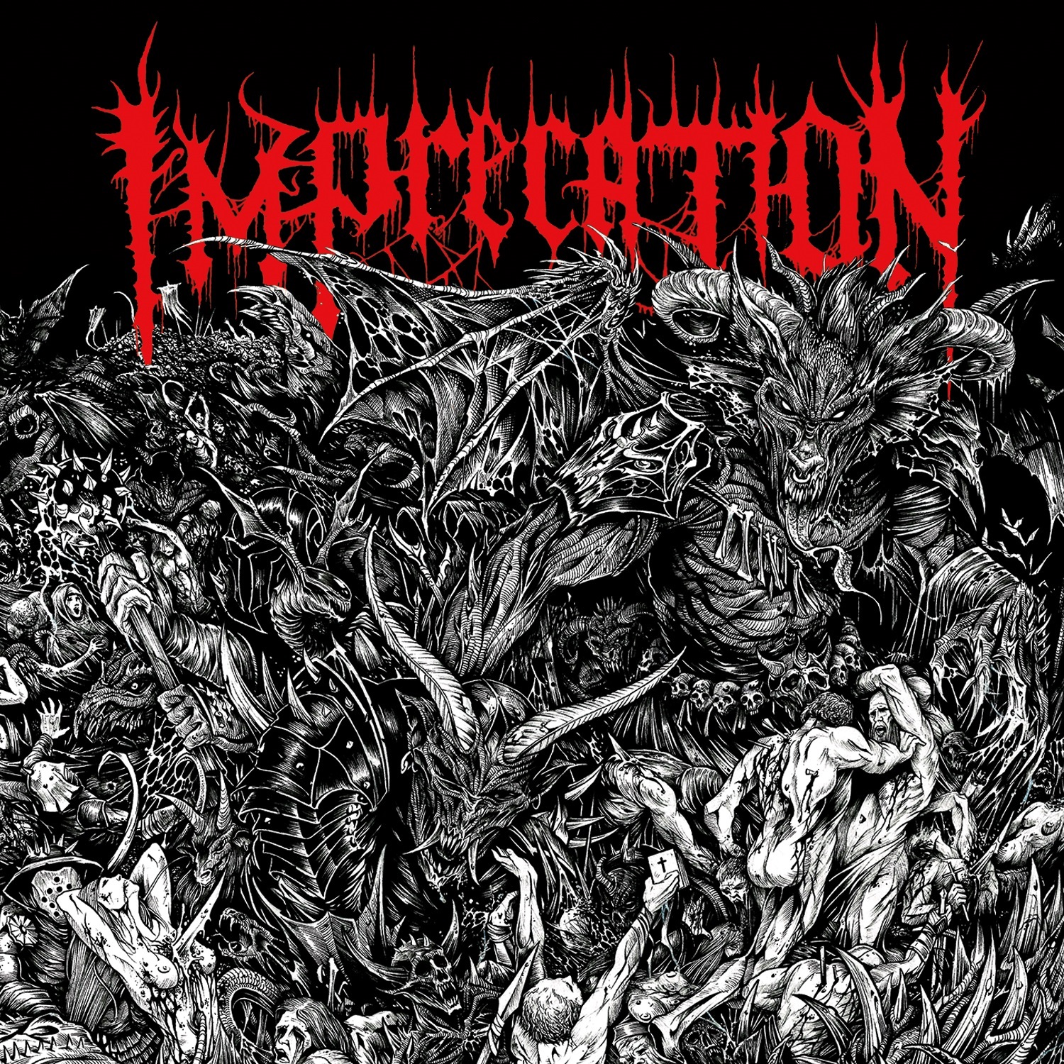 Imprecation - Damnatio Ad Bestias - Press Release + Full Album Stream.
