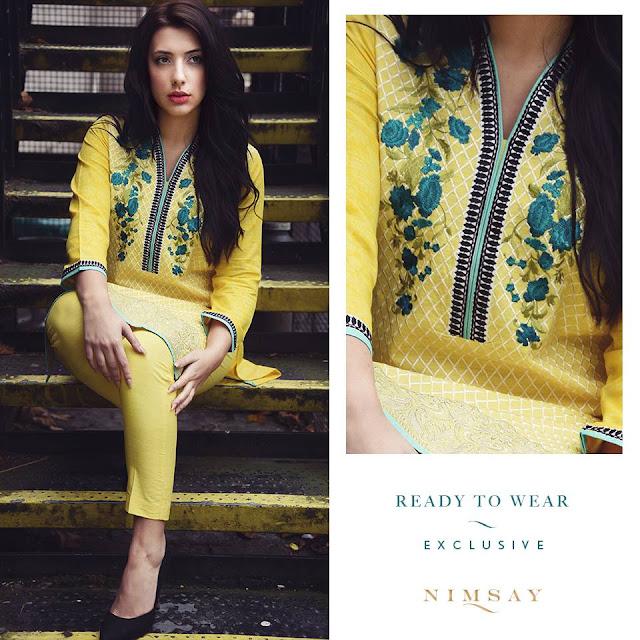 Nimsay Autumn Winter Dresses 2016-2017 For Girls