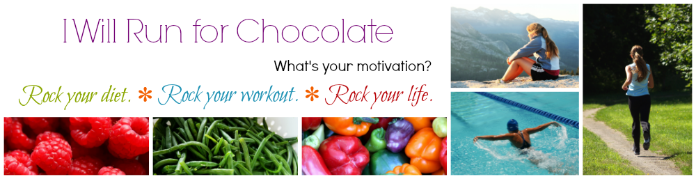 I Will Run For Chocolate | Rock your diet. Rock your workout. Rock your life.