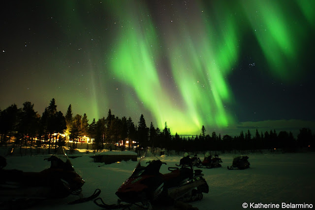 Snowmobiling Northern Lights Tour