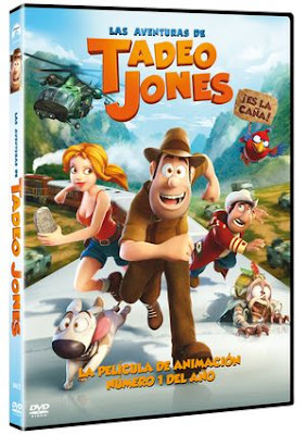Las aventuras de Tadeo Jones (2012) DVD