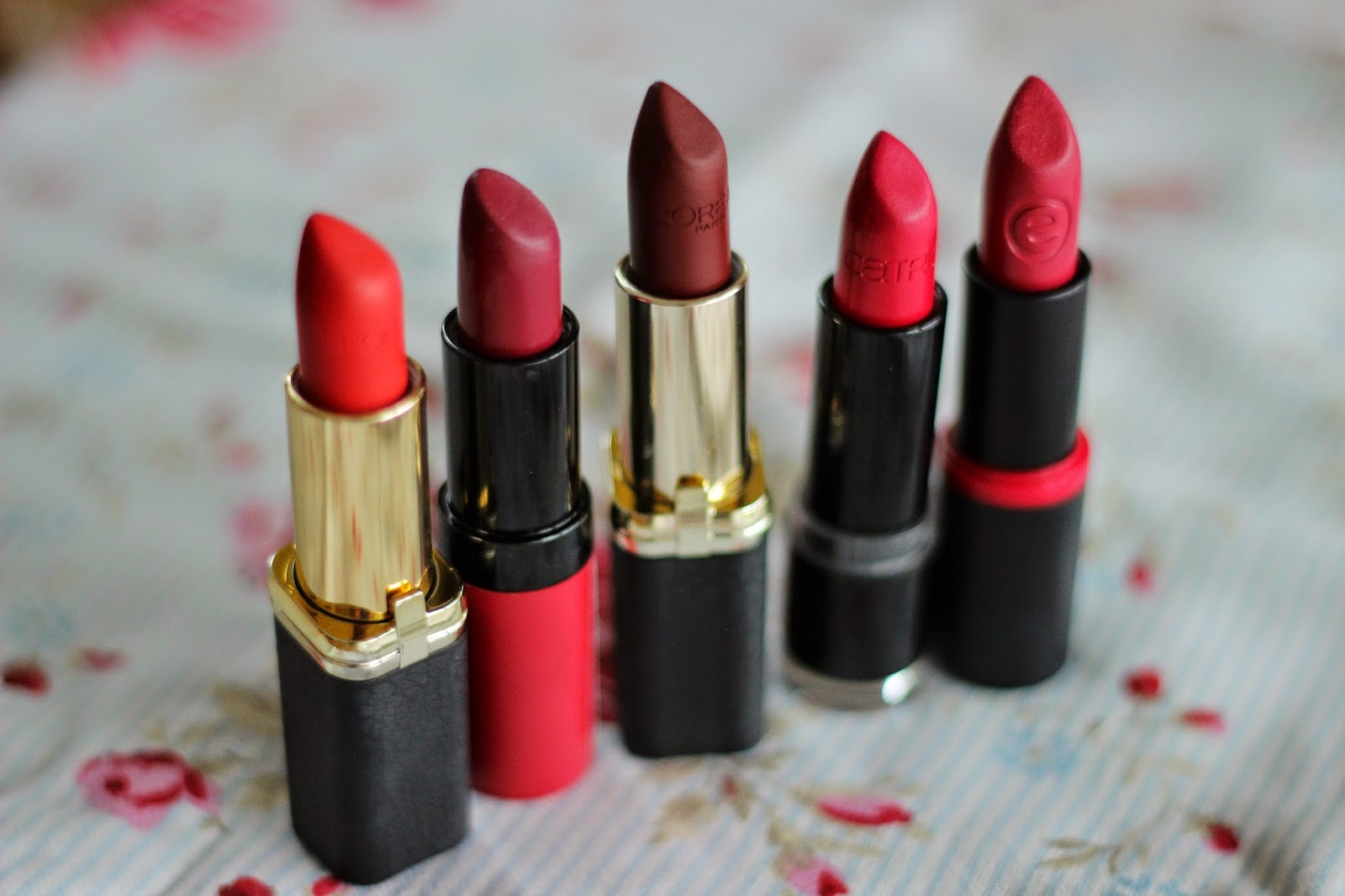 favoriete rode lipsticks