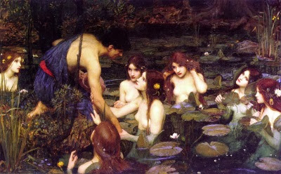 Hylas i les nimfes (John William Waterhouse)