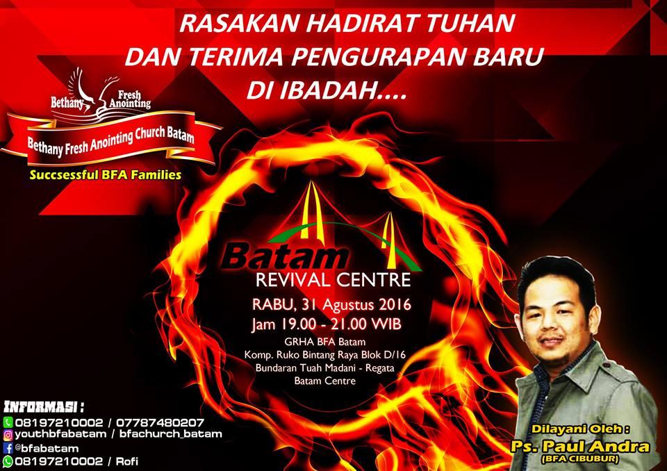 IBRA Batam Revival Centre