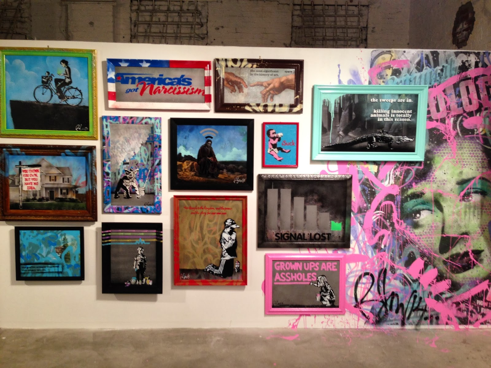 """Preview of Rene Gagnon's new solo show """"Hi! My Name is..."""" at the Bottleneck Gallery in New York City. 3"""