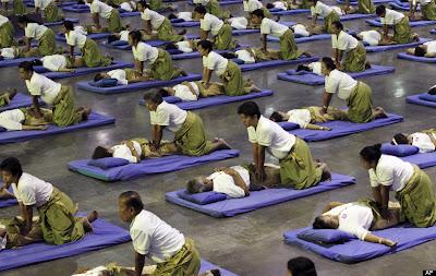 Mass-Massage World Record