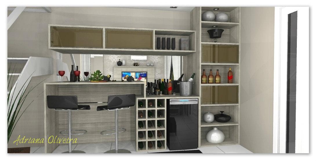 #474241 LOUCOS POR ISSO By Dri Oliveira 1090x556 píxeis em Bar Moderno Na Sala De Estar